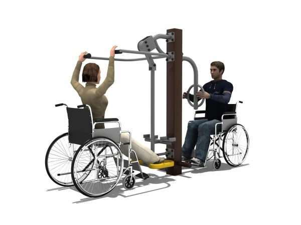 Lower Limbs Trainer Station BLH-1510 équipement fitness pmr PMR [tag]