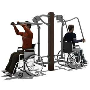 Lat Pull Down & Chest Press BLH-1512 équipement fitness pmr RPM [tag]