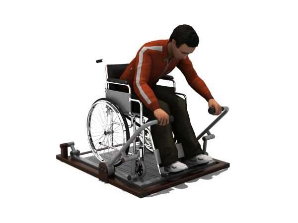 Rower BLH-1516équipement fitness pmr PMR [tag]