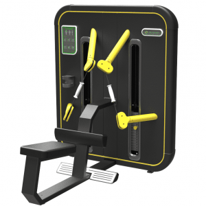 Machine de musculation Low Row KNFIT