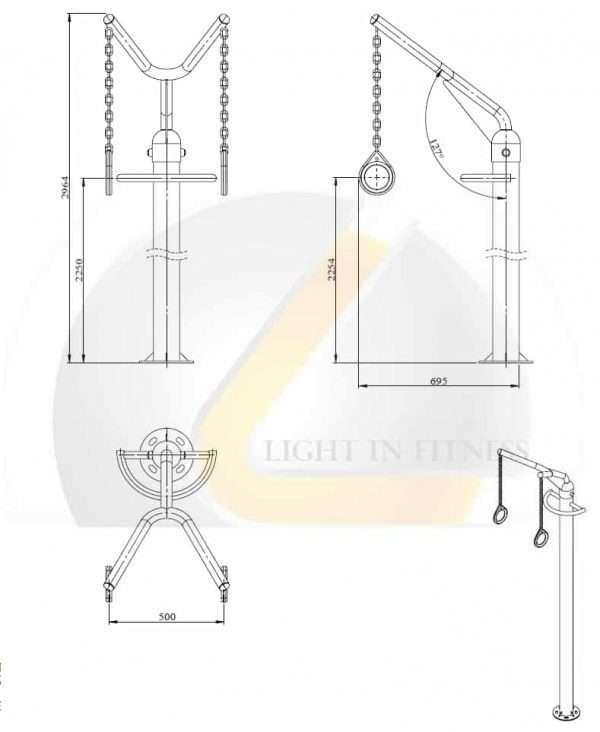 Module Gym Rings BLCRP-3 Composez [tag]