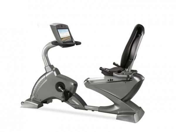 Vélo couché F1 8318WD TV Cardio-training [tag]
