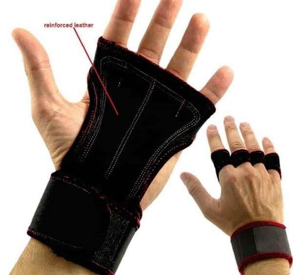 Gants de Street Workout Noir Taille M