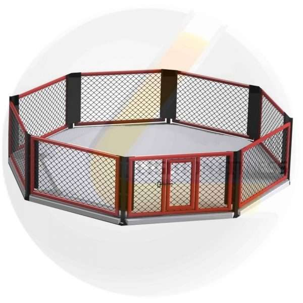 Cage MMA au Sol 6m x 6m cage MMA au sol [tag]