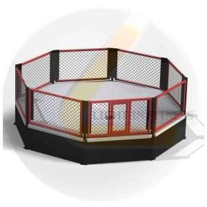 Cage MMA Podium 7m x 7m Cage mma podium [tag]