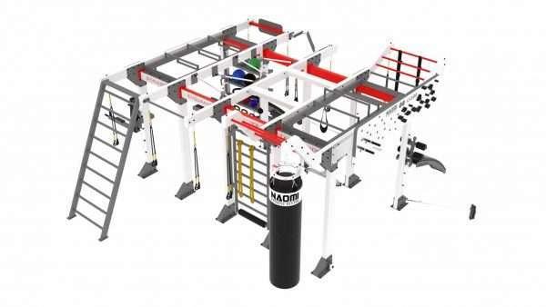 cage crossfit cube D400