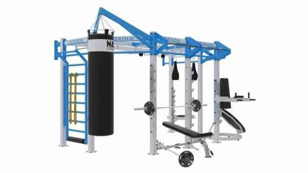 Cage crossfit SILVER WALL MOUNT Line C 4