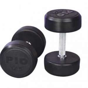 Black Rubber Coated Dumbbell Accessoires [tag]