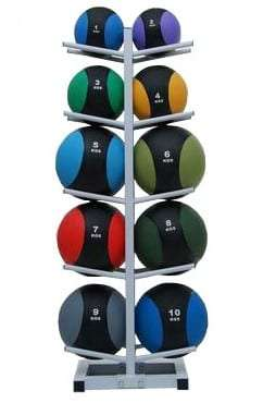 Two colors medicine ball