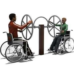Shoulder Wheels BLH-1502équipement fitness pmr