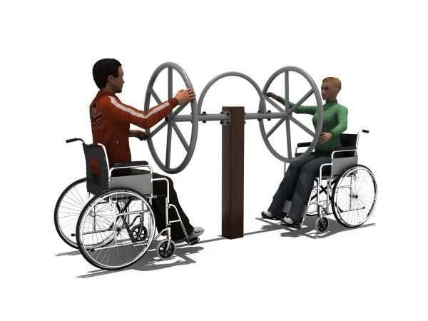 Shoulder Wheels BLH-1502équipement fitness pmr PMR [tag]
