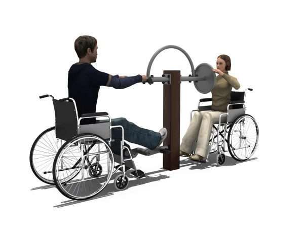 Lower Limbs Warm up Trainer & Arms Strength Trainer BLH-1505 équipement fitness pmr PMR [tag]