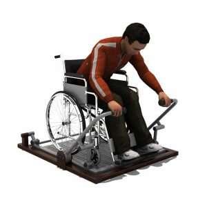 Rower BLH-1516équipement fitness pmr