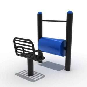 SEATED LEGS ROLLING BLO-079