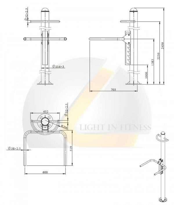 Module Dips BLCRP-6