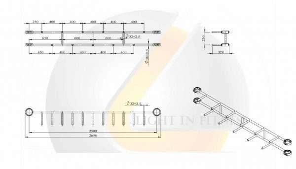 Module Ladder Handle BLCRP-10 Composez [tag]