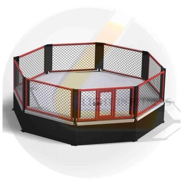 Cage MMA Podium 6m x 6m Cage mma podium [tag]