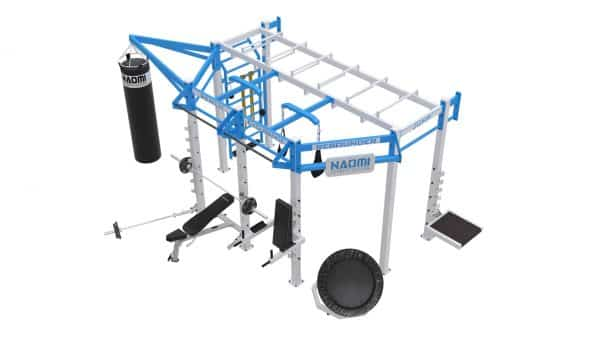Cage crossfit SILVER WALL MOUNT Line C 3