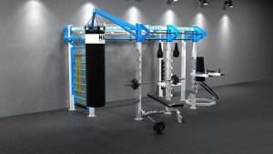 Cage crossfit SILVER WALL MOUNT Line C 6