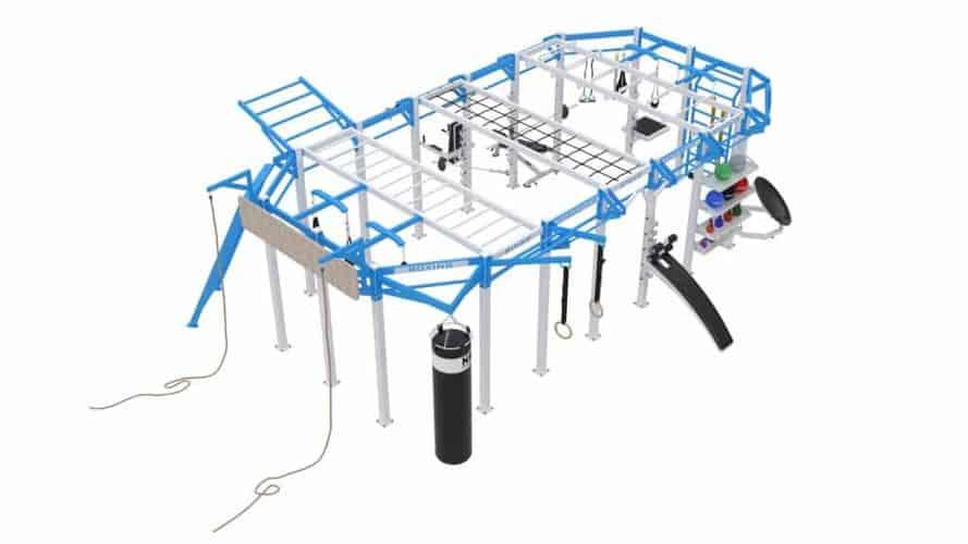 Cage Crossfit Platinum Line C 1