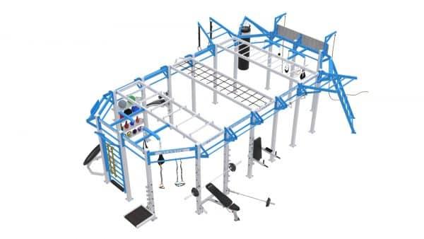 Cage Crossfit Platinum Line C 3