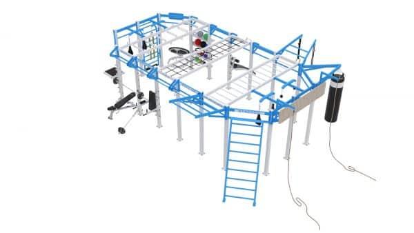 Cage Crossfit Platinum Line C 4