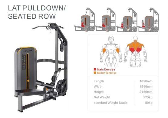 Lat Pulldown-seated row X-Plus